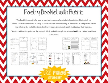 Student Booklets: Fiction, Nonfiction and Poetry