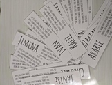 Student Bookmarks