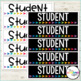 Student Bookmarks {Editable}