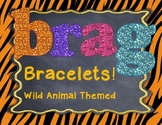 Student Brag Bracelets: Animal Print