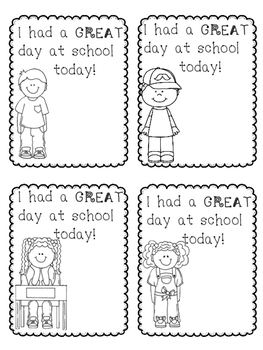 Student Brag Notes {FREEBIE}