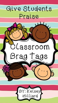 Student Behavior Brag Tags
