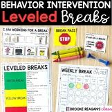 Student Breaks {for behavior intervention}