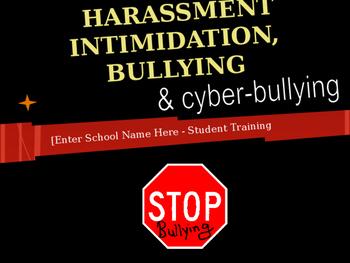 Student Bullying Awareness Training