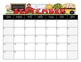 Student Calendar August 2013- July 2014