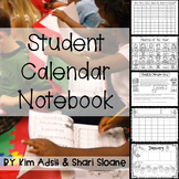 Calendar: Student Calendar Notebook