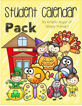 Student Calendar Pack