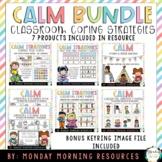 Student Calm Down Coping Strategies Self-Regulation Bundle