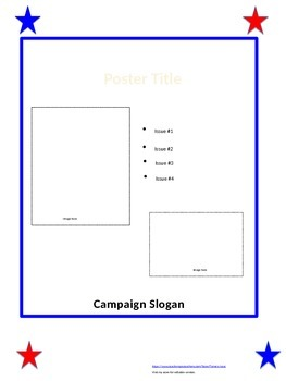 Student Campaign Poster (editable)