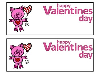 Student Cards for Valentine's Day