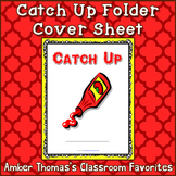 Student Catch Up Folder Cover