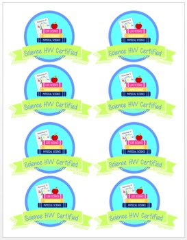 Student Celebrations Badges