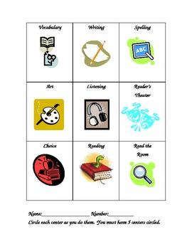 Student Center Folder Check List