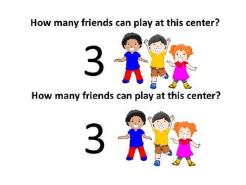 Student Center Number Descriptions