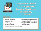 Student-Centered [DISTANCE] Chemistry Learning Experiences