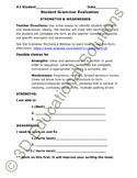 SALE Student-Centered Grammar Assessment Form