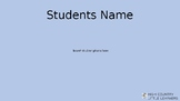 Student Centered IEP Template