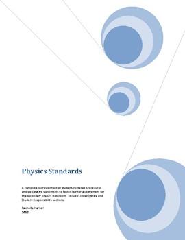 Student-Centered Physics Standards