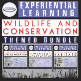 High School Biology Project Bundle: Wildlife and Conservation