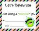 Student Certificates with Class Dojo Theme