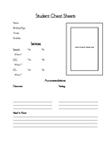 Student Cheat Sheets (PDF)