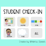 Student Check-In - Boom Cards™