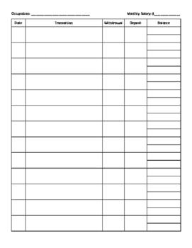 Student Check Register