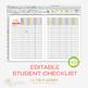 Student Checklist Editable - Teacher Binder | Student Reco
