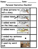 Student Child Friendly Picture Writing Editing Checklist T