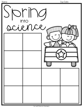 Student Choice Boards: Spring Edition {EDITABLE}