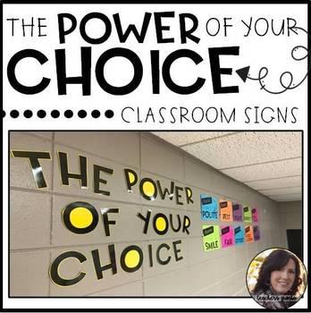 Student Choice Bulletin Board Display