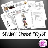 Student Choice Project