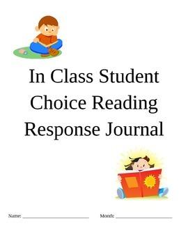 Student Choice Reading Response