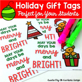Student Christmas / Holiday Gift Tags