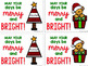 Student Christmas / Holiday Gift Tags #lastminutegiftsforbigkids