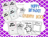 Student Class Birthday Book