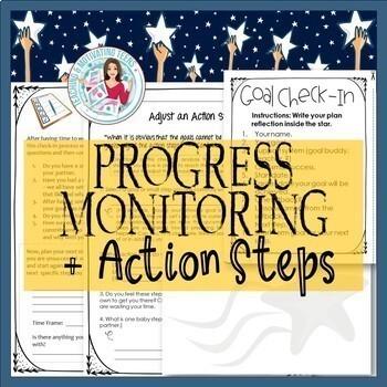 Goal Setting System 2018 w/ Editable Workbook & Class Evaluation