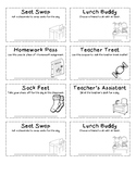 Student Classroom Coupons