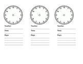 Student Clock Reminder for special services