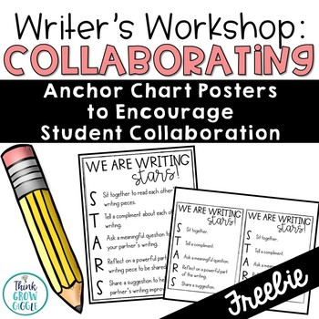 Student Writing Collaboration Chart FREE
