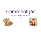 Student Comment Jar Set