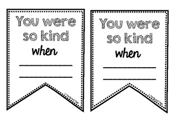 Student Compliment Cards