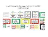 Student Comprehension Cups To Check for Understanding in t