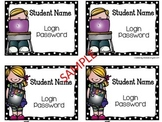 Student Computer Cards FREEBIE