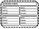 Student Computer Log In Recording Sheets Large EDITABLE