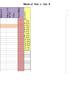 Student Conduct Spreadsheet