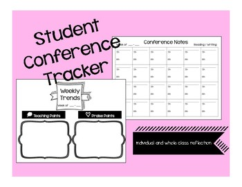 Student Conference Notes Tracker