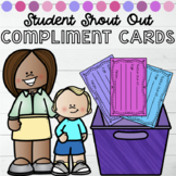 Student Shout Out Compliment Cards