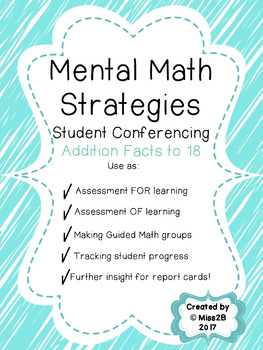 Student Conferencing for Mental Math Strategies