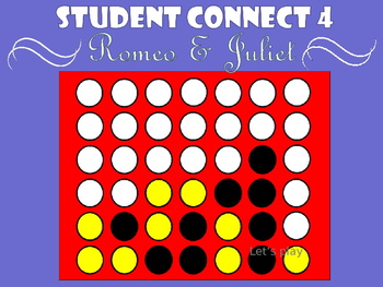 Student Connect 4 - Romeo & Juliet
